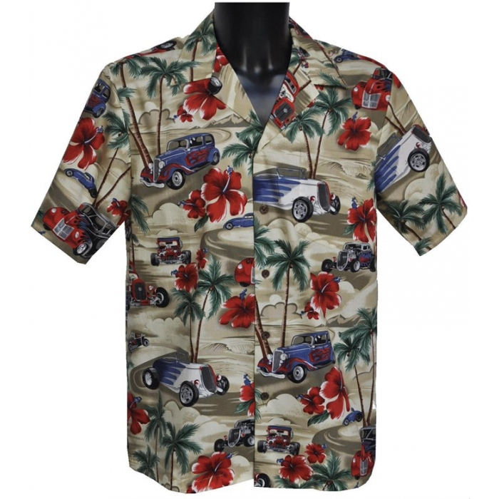 chemise hawaienne ...NUIT SUR HAWAI