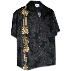 chemise hawaienne emblems of hawaii. Black Bedroom Furniture Sets. Home Design Ideas