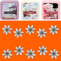 3 Savons + Paréo New fleurs de tiaré