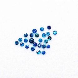 Apatite Bleu Foncé Neon