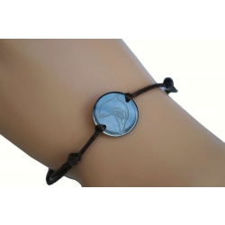 Bracelet nacre PM motif dauphin N°6