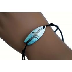 Bracelet  nacre surf raie N° 2