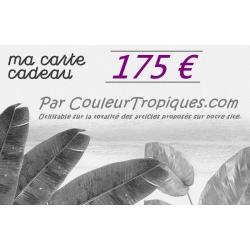 Carte cadeau 175 €