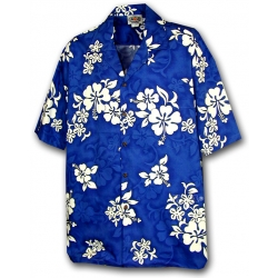 Chemise hawaienne BLUE HAWAII