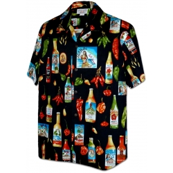Chemise Hawaienne CHILI PEPPER