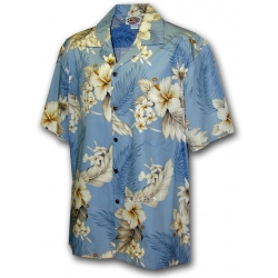 Chemise Hawaienne DREAM IN BLUE