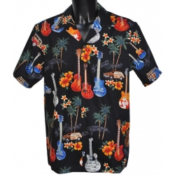 Chemise Hawaienne GUITARES