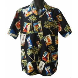 Chemise Hawaienne HAWAIIAN PICTURES