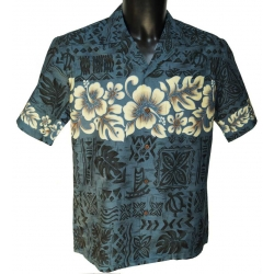 Chemise Hawaienne Hibiscus Band