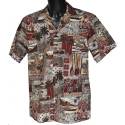 Chemise hawaienne JOURNEY ON THE SEA