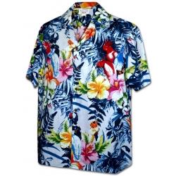 Chemise Hawaïenne KING PARROT