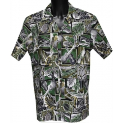 Chemise hawaienne MUSIC AND BOAT
