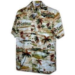 Chemise Hawaienne OAHU GOLF CLUB