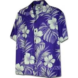 Chemise Hawaienne PURPLE RAIN