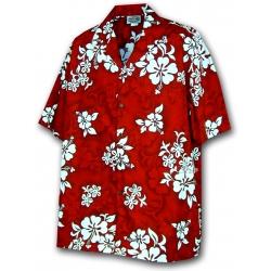 Chemise Hawaienne RED HAWAII