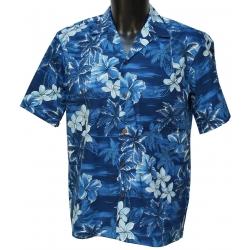 Chemise Hawaienne SKY NAVY