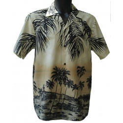 Chemise hawaienne SOUS LES COCOTIERS NEW