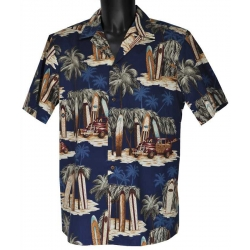 Chemise hawaienne TRUCK AND SURFS
