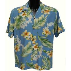 Chemise hawaienne TUBEROSE
