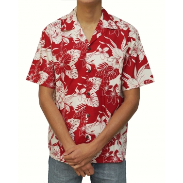Chemise hawaienne made in hawai