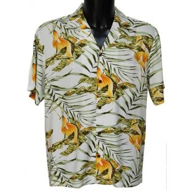 Chemise hawaienne oui mais une authentique