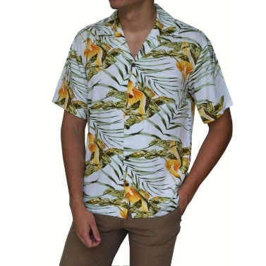 Chemise hawaienne made in Hawaii