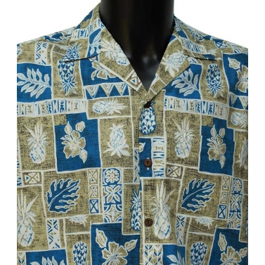 Chemise homme hawaienne