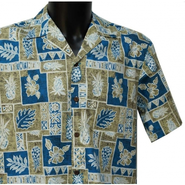 Chemise hawaienne manches courtes