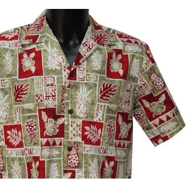 Chemise hawaienne two palms