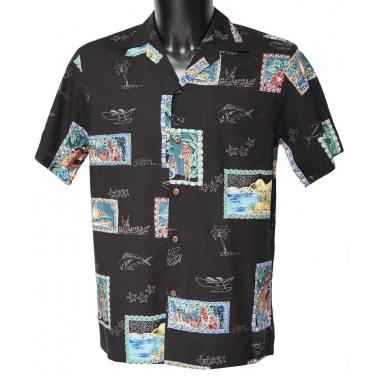 Véritable Chemise hawaienne