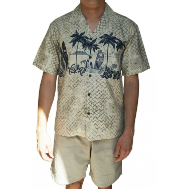 chemise en coton made in Hawai