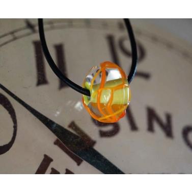 Pendentif en verre filé collection Sphaera