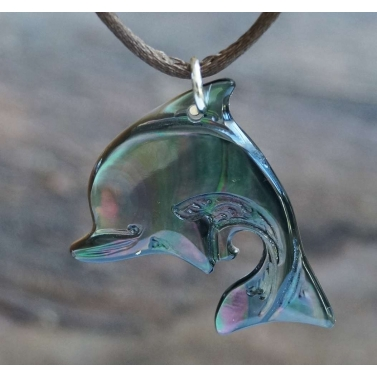 Bijou dauphin nacre de Tahiti