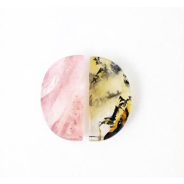 beau quartz a inclusions