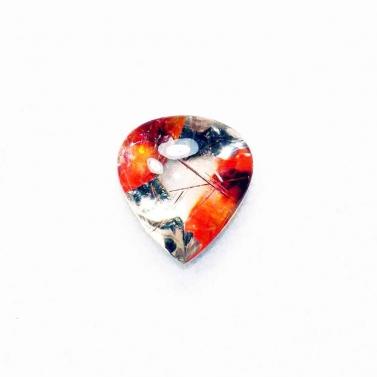 quartz avec inclusions en forme de coeur