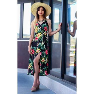 robe à fleurs fabriquée à Hawaï
