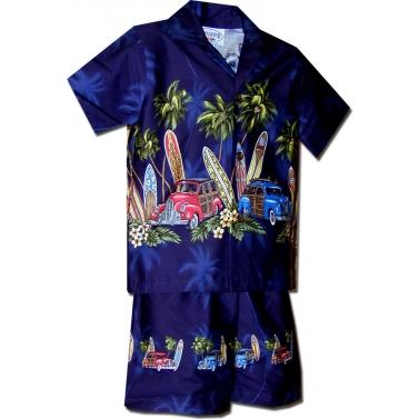 Ensemble hawai garcon