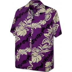 Chemise Hawaïenne TI LEAVE