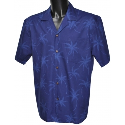 Chemise Hawaienne BLUE ON BLUE