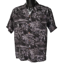 Chemise hawaienne ETCHES OF HAWAII