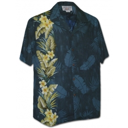 Chemise Hawaienne EXOTIC FLOWERS BAND