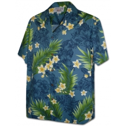 Chemise Hawaienne FRANGIPANIER FROM HAWAII