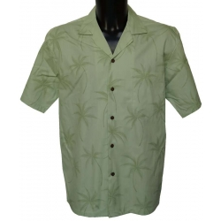 Chemise Hawaienne GREEN ON GREEN