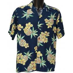 Chemise hawaienne HALE KAHIKI NAVY