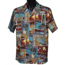 Chemise Hawaienne HAWAIAN LIFE
