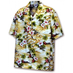 Chemise Hawaienne HAWAII (Maïs)