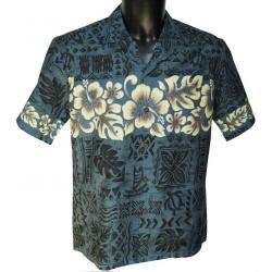 Chemise Hawaienne Hibiscus Band