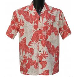 Chemise Hawaienne LANAI CORAL