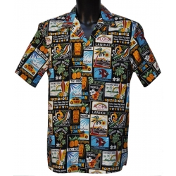 Chemise Hawaienne NORTH SHORE