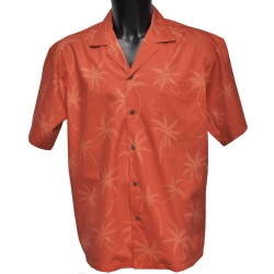 Chemise Hawaienne ORANGE ON ORANGE